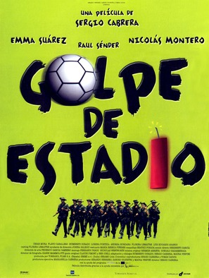 Golpe de estadio - Spanish poster (thumbnail)