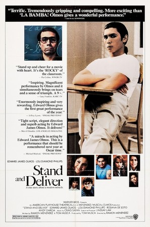 Stand and Deliver - Movie Poster (thumbnail)