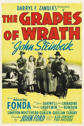 The Grapes of Wrath - Theatrical poster (thumbnail)