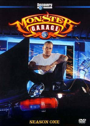 """Monster Garage"" - DVD movie cover (thumbnail)"