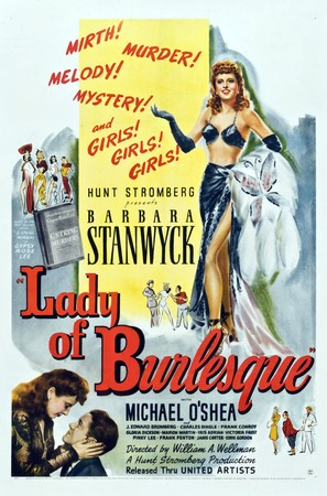 Lady of Burlesque - Movie Poster (thumbnail)