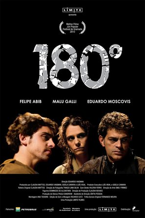 180 Graus - Brazilian Movie Poster (thumbnail)