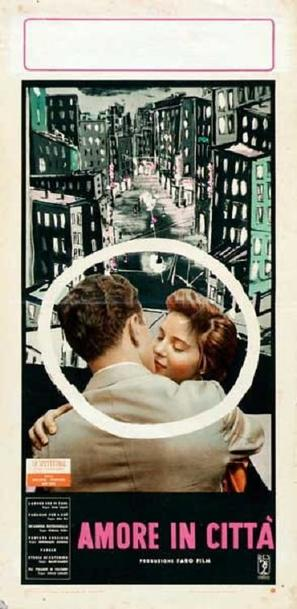 Amore in città, L' - Italian Movie Poster (thumbnail)