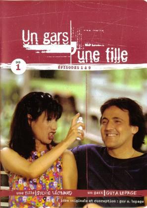 """Un gars, une fille"" - Canadian DVD movie cover (thumbnail)"