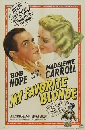My Favorite Blonde - Movie Poster (thumbnail)