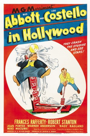 Abbott and Costello in Hollywood - Movie Poster (thumbnail)
