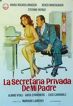 La segretaria privata di mio padre - Italian Movie Poster (thumbnail)
