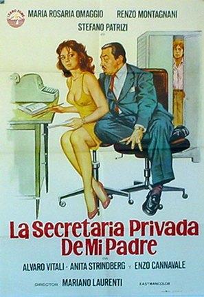 La segretaria privata di mio padre - Italian Movie Poster (thumbnail)