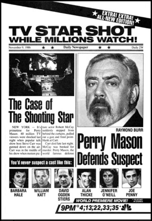 Perry Mason: The Case of the Shooting Star - poster (thumbnail)