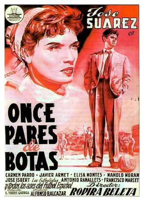Once pares de botas - Spanish Movie Poster (thumbnail)