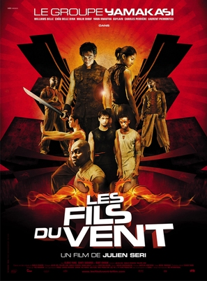 Les fils du vent - French Movie Poster (thumbnail)