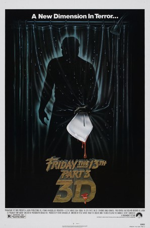 Friday the 13th Part III - Movie Poster (thumbnail)
