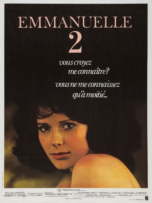 Emmanuelle 2 - French Movie Poster (thumbnail)