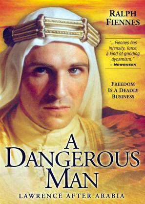 A Dangerous Man: Lawrence After Arabia - DVD movie cover (thumbnail)