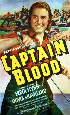 Captain Blood - Movie Poster (thumbnail)