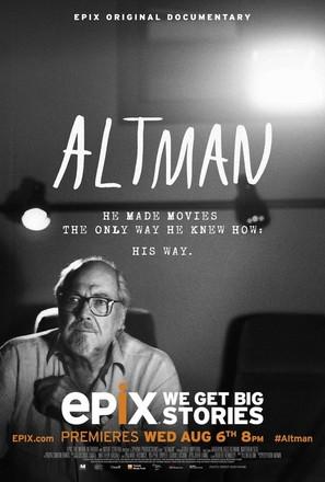 Altman - Movie Poster (thumbnail)