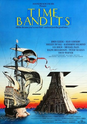 Time Bandits - British Movie Poster (thumbnail)