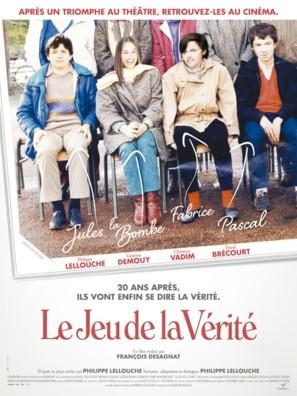 Le jeu de la vérité - French Movie Poster (thumbnail)