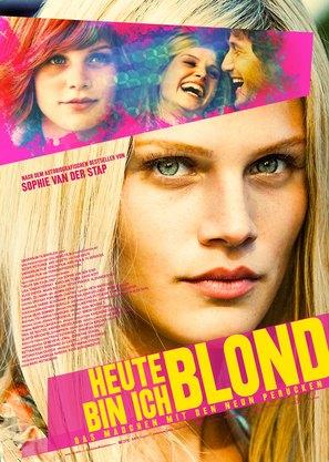 Heute bin ich blond - German Movie Poster (thumbnail)