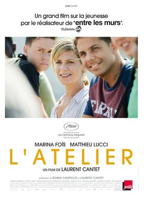 L'atelier - French Movie Poster (thumbnail)