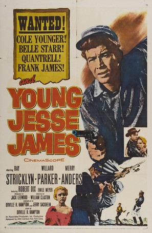 Young Jesse James - Movie Poster (thumbnail)
