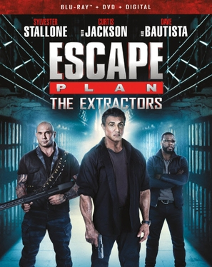 Escape Plan: The Extractors - Blu-Ray movie cover (thumbnail)