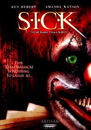 S.I.C.K. Serial Insane Clown Killer - DVD cover (thumbnail)