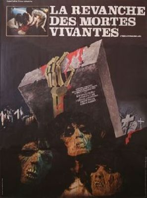 La revanche des mortes vivantes - French Movie Poster (thumbnail)