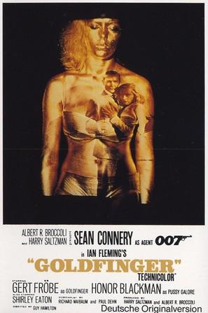 Goldfinger - Movie Poster (thumbnail)