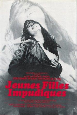 Jeunes filles impudiques - French Movie Poster (thumbnail)