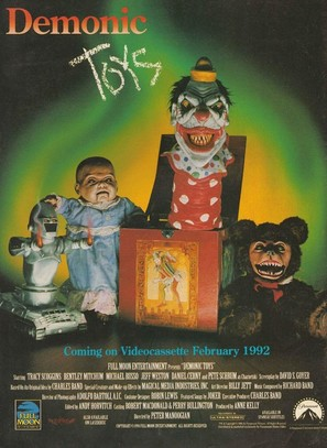 Demonic Toys - Video release poster (thumbnail)