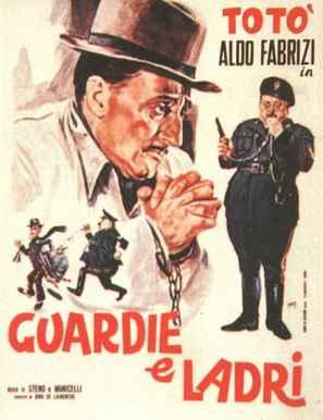 Guardie e ladri - Italian Movie Poster (thumbnail)