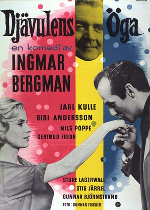 Djävulens öga - Swedish Movie Poster (thumbnail)