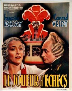 Le joueur d'échecs - French Movie Poster (thumbnail)