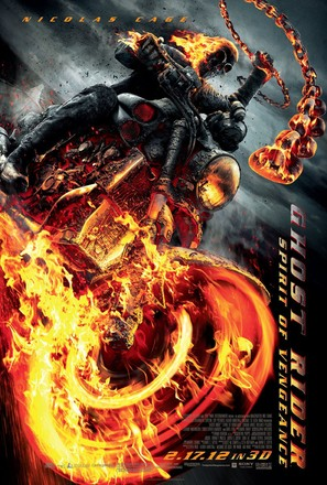 Ghost Rider: Spirit of Vengeance - Movie Poster (thumbnail)