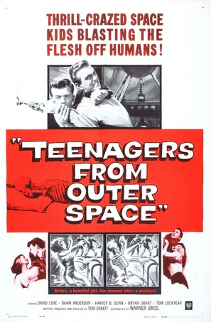 Teenagers from Outer Space - Movie Poster (thumbnail)