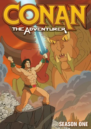 """Conan: The Adventurer"" - DVD movie cover (thumbnail)"