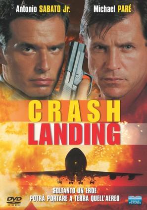 Crash Landing - Italian DVD movie cover (thumbnail)