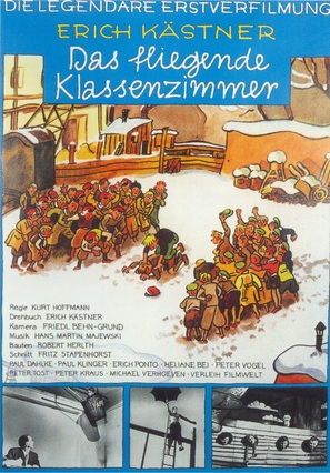 Fliegende Klassenzimmer, Das - German Movie Poster (thumbnail)