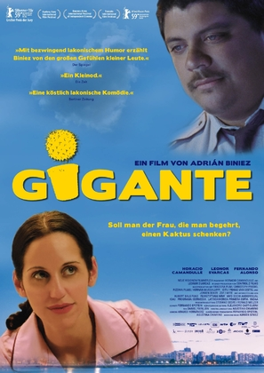 Gigante - German Movie Poster (thumbnail)