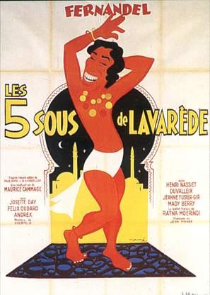 Cinq sous de Lavaréde, Les - French Movie Poster (thumbnail)