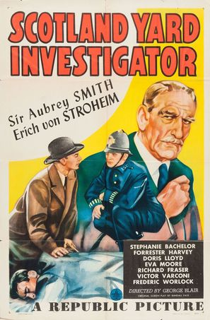 Scotland Yard Investigator - Movie Poster (thumbnail)
