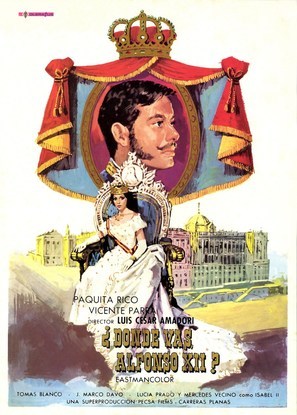 ¿Dónde vas, Alfonso XII? - Spanish Movie Poster (thumbnail)