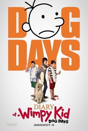Diary of a Wimpy Kid: Dog Days - Movie Poster (thumbnail)