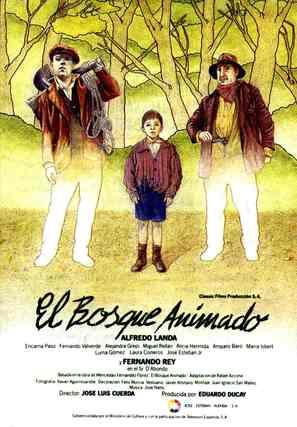 Bosque animado, El - Spanish Movie Poster (thumbnail)