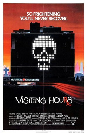 Visiting Hours - Movie Poster (thumbnail)