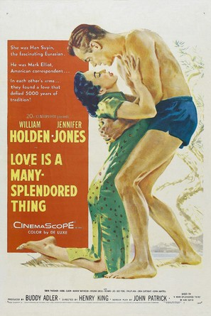 Love Is a Many-Splendored Thing - Movie Poster (thumbnail)