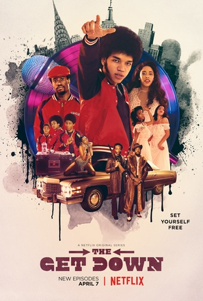 """The Get Down"" - Movie Poster (thumbnail)"