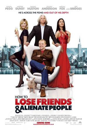 How to Lose Friends & Alienate People - British Movie Poster (thumbnail)