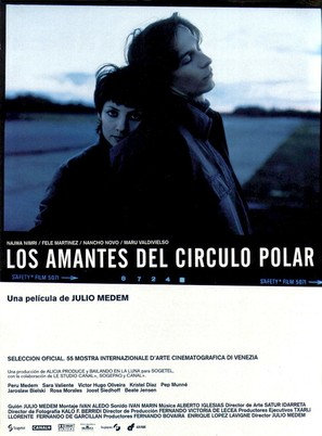 Amantes del Círculo Polar, Los - Spanish Movie Poster (thumbnail)